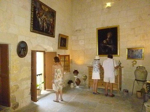 Norman House interior