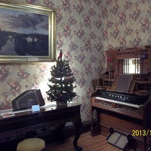 Lake County Historical Center back parlor