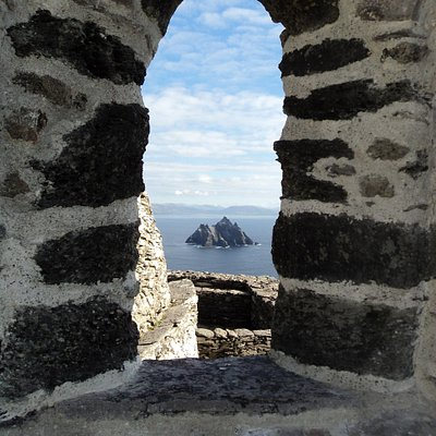 View of Little Skellig from Great Skellig