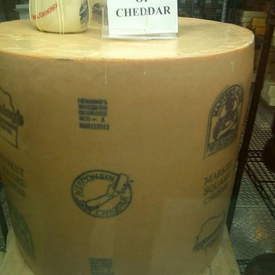 Wisconsin is serious about their cheese!
