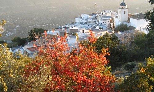 Scene of Cáñar village