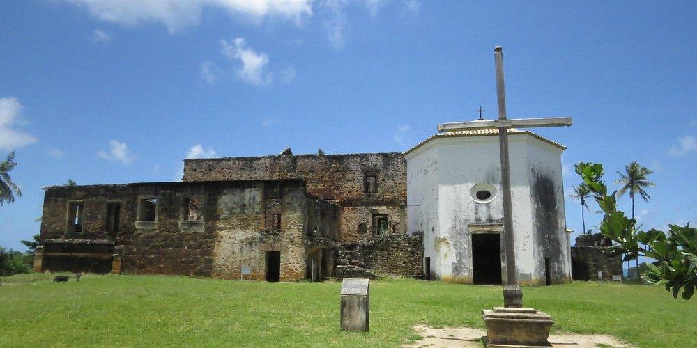 Vista externa do castelo