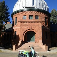 Chamberlain Observatory in Observatory Park near University of Denver