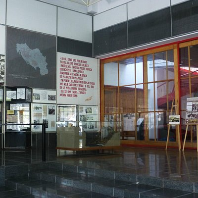 display inside the Museum