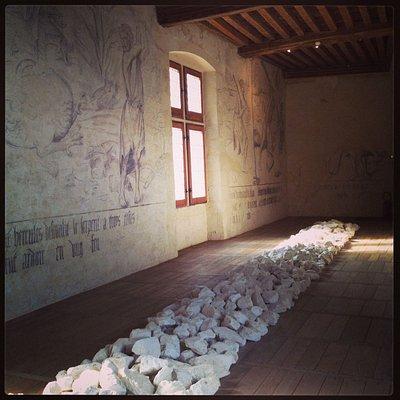 Salle des fresques d'Hercule