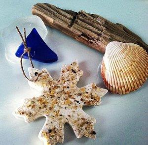 Hatteras Island Snowflake Ornamnet