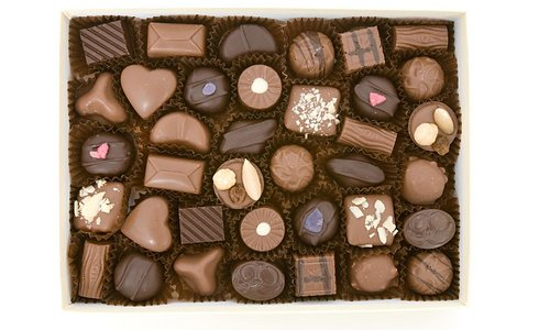 Fresh handmade chocolates