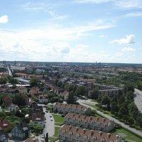 Utsikt från Svampen