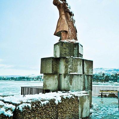 Il monumento al pescatore
