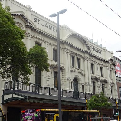 St James Theatre facade