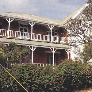 The museum is housed in Robert's House, a turn of the century restored National Monument