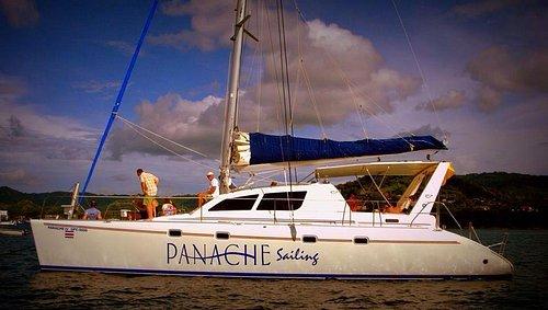 World class catamaran!