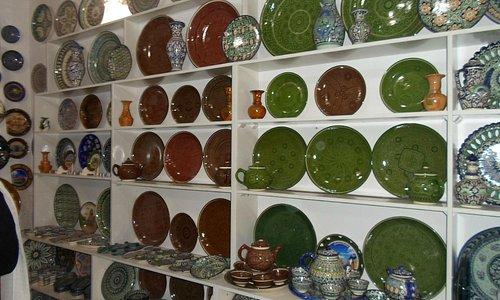 Uzbek Pottery Tillya Kari Madrasa