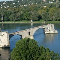 View over the Rhone