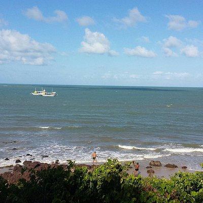 Praia com alto nivel de conforto e tranquilidade