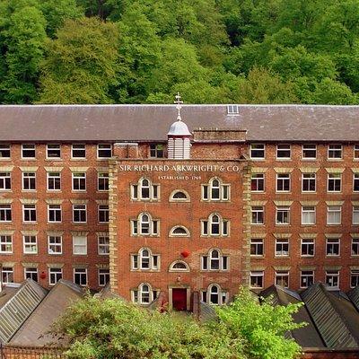 Sir Richard Arkwright's 1783 Masson Mill