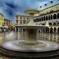 View from Piazza delle Erbe (with fountain)