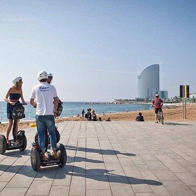 Segway en la Barceloneta