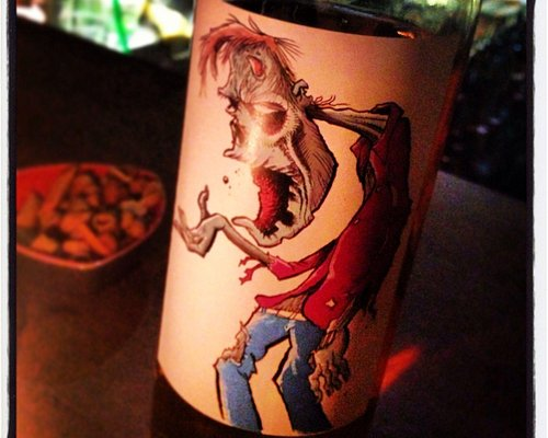 The zombie blend bottle
