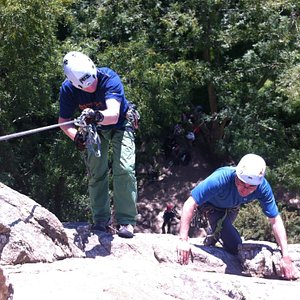Learn to rock Climb with the best instructors in the country!
