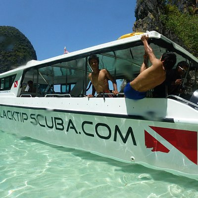 The Blacktip Dive Boat