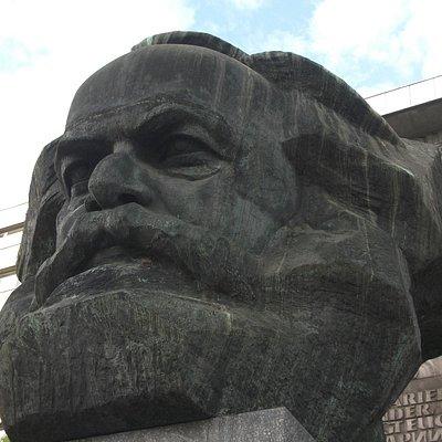 Карл Маркс крупным планом