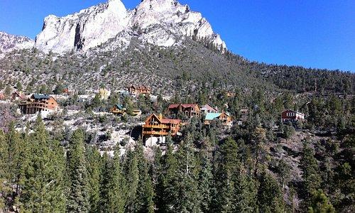 vista da recepção do hotel