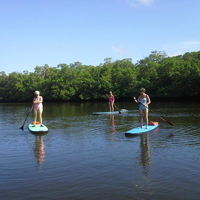 You are never to old to learn to paddleboard with Suncoast Paddle