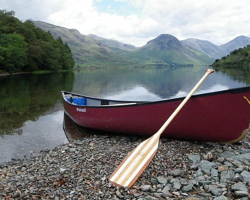 Canoeing on Wastwater (Englands deepest lake)