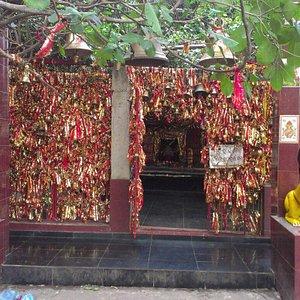 Ghanteswari temple entrance. By DEBAPATI