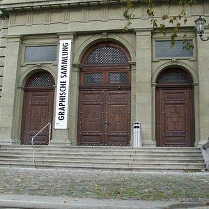 ETH Building entrance