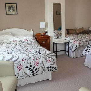 Our upgraded room at Beechwood House B&B