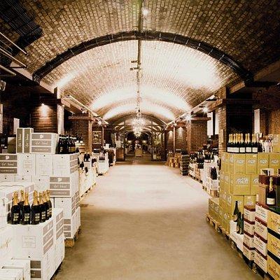 Der Kölner Weinkeller - 13 Meter unter der Erde.