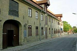 Det bruunske Pakhus: facade