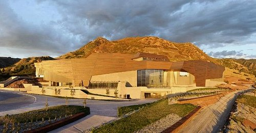 Exterior view of Natural History Museum of Utah