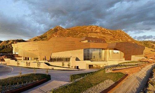 Exterior view of Natural History Museum of Utah