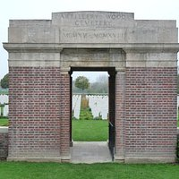 Artillery Wood Cemetery Entrance