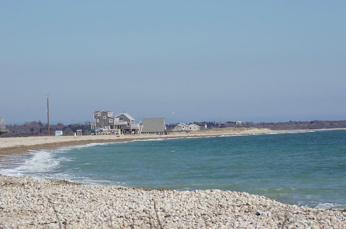 Looking toward some of the beach houses