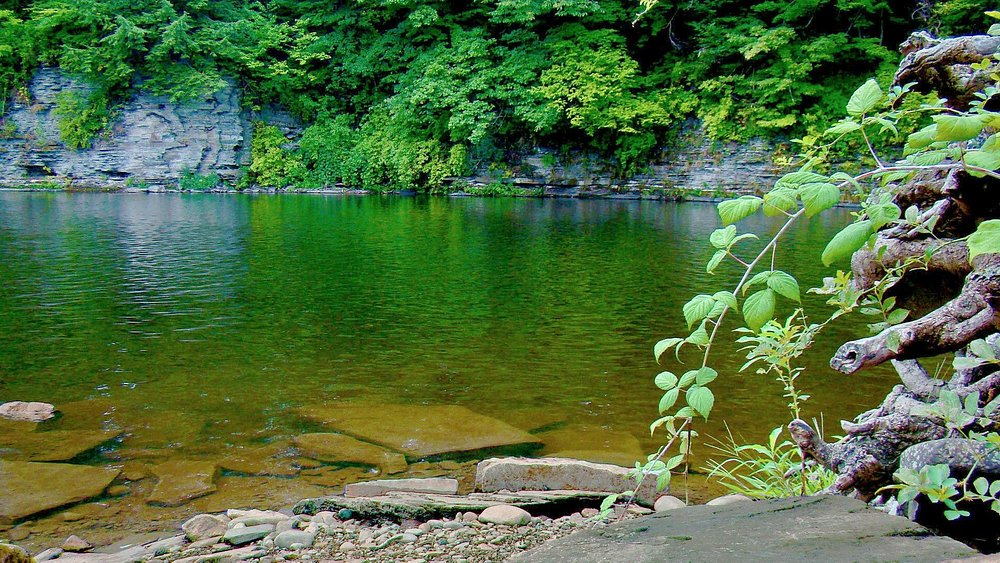 Black Hole, Salmon River, Pulaski, NY - public access site