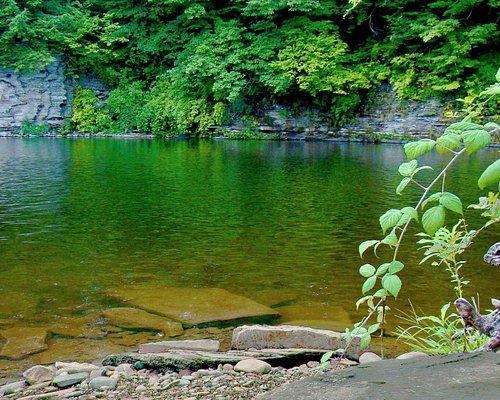 Black Hole, Salmon River, Pulaski, NY - public access site