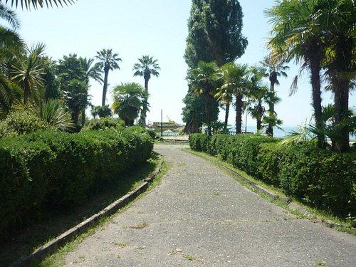 Вид на пристань
