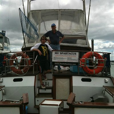 Captain Pat & Chief Deckie Sean