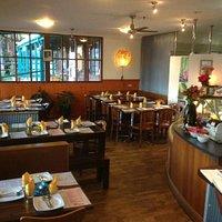 Partial view of Sukhothai Restaurant.