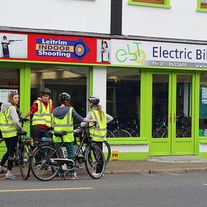 Electric Bike Trails Premises, Leitrim Village