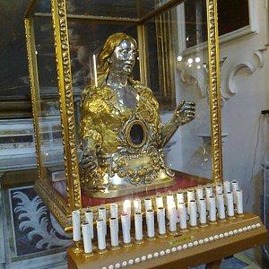 Busto reliquiario di S. Maria Egiziaca