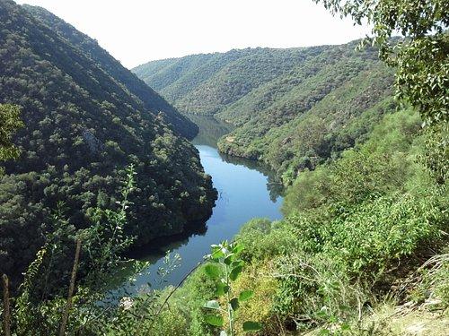 Bembezar river seen from the Seminary