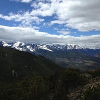 View from top of the Estes Cone - Fabulous! So worth the trek!