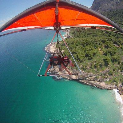 Soar over Rio de Janeiro on our Hang Gliders
