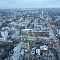Панорама Екатеринбурга со смотровой площадки