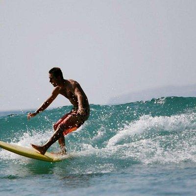 warm water surfing with Wildmex